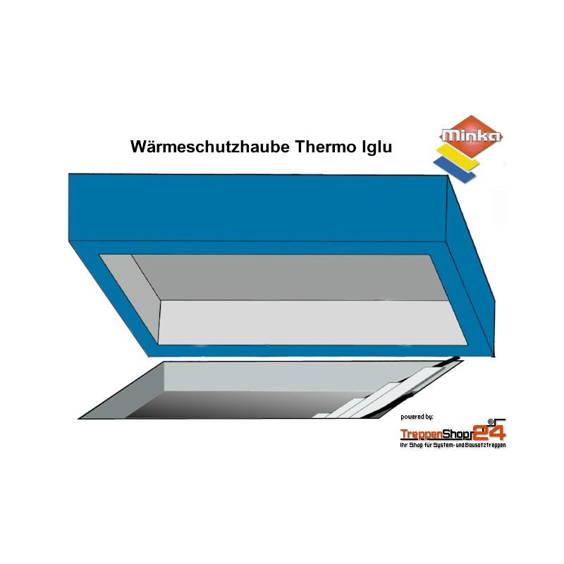Relativ Wärmeschutzhaube Thermo Iglu für Bodentreppen - TreppenShop24 CD34