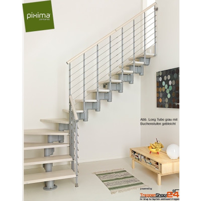 Mittelholmtreppe Long Tube 90