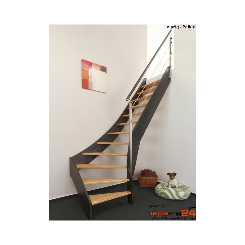 raumspartreppe leipzig 15 steigungen 1 4 gewendelt unten treppenshop. Black Bedroom Furniture Sets. Home Design Ideas