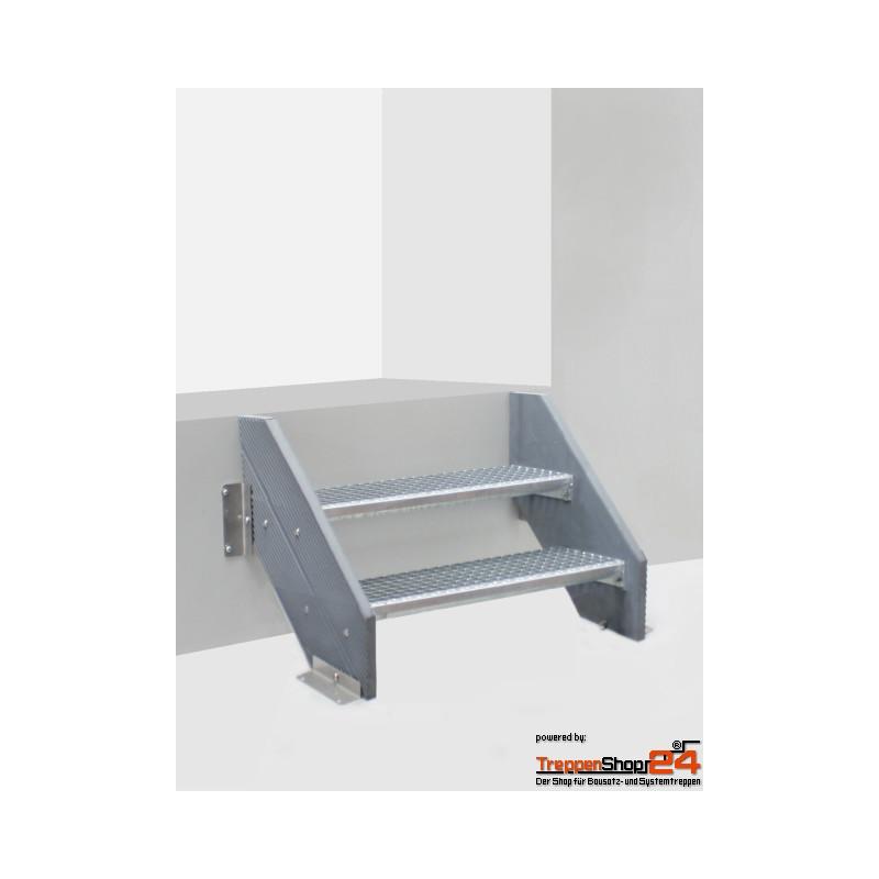 au entreppe alaska ku 2 stufen gh 40 60 cm treppenshop24. Black Bedroom Furniture Sets. Home Design Ideas